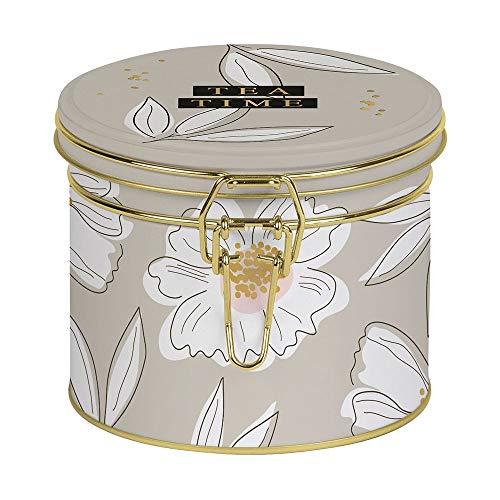 Grafik-Werkstatt Tee in der Dose, Schreibkram Manufaktur, Teedose: Tea Time, 100g Früchtetee zum Träumen