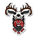 Dark Spark Decals Eat The Rich Wendigo - 6 InchFull Color Vinyl Decal for Indoor or Outdoor use, Cars, Laptops, Dcor, Windows, and More