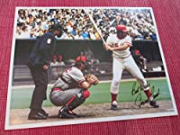 JOHNNY BENCH (Facsimile Signed) Cincinnati Reds 8x10 Baseball Photo