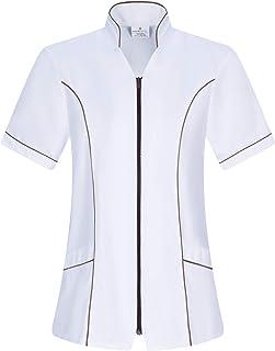 Workwear Tucano - Camisa Sanitarios Mujer Uniforme Doctora Uniforme Laboral Veterinaria SANITAWRIOS Farmacia LABORATOR- Re...
