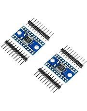 TECNOIOT 2pcs TXS0108E 8 Channel Logic Level Converter TTL 3.3V 5V Bi-Directional Convert   2pcs 8 Canales de Nivel Lógico bidireccional bidireccional Módulo convertidor TXS0108E para Arduino