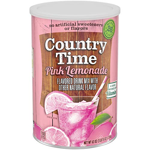 Country Time Pink Lemonade Drink Mix (63 oz Canister)
