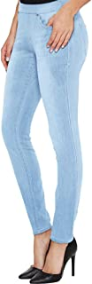 H&C Women Super Stretch Skinny Pull-on Pant with Petite...