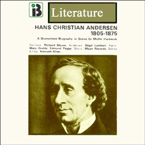 Hans Christian Andersen audiobook cover art