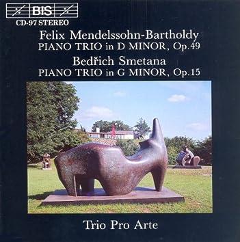 Mendelssohn / Smetana: Piano Trios