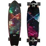 Globe Chromantic Cruiser Galaxy Complete Longboard Skateboard 9.7 x 33-Inch