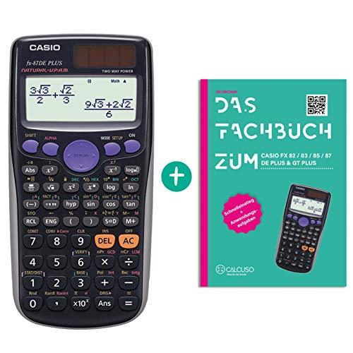 Casio FX-87DE Plus + Fachbuch