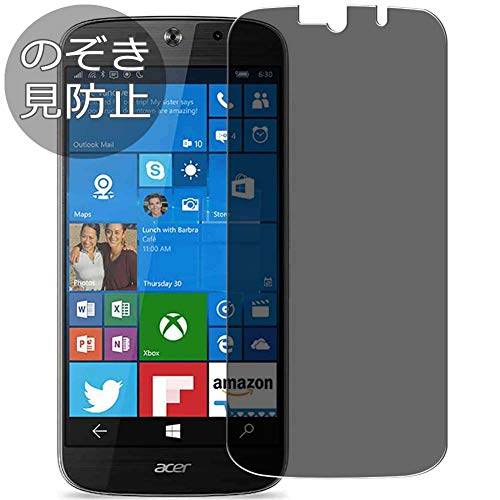 Synvy Privacy Screen Protector Film Compatible with Acer Liquid Jade Primo JPS58 0.14mm Anti Spy Protective Protectors [Not Tempered Glass]
