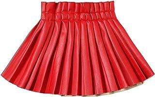 دامن های چرمی WELAKEN برای دختران بچه ها