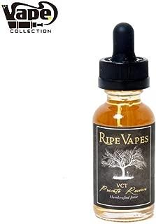 (Ripe Vapes) ブイシーティー プライベートリザーブ VCT Private Reserve 30ml 電子たばこ リキッド 海外