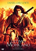 EL ULTIMO MOHICANO (The last of the Mohicans) Region 2 - PAL Format - Daniel Day-Lewis