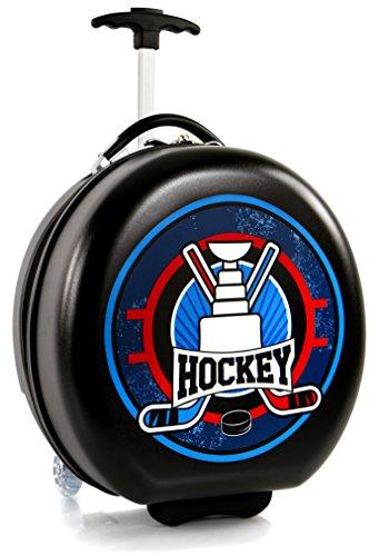 Heys Kids Sports Luggage 16 Inch Wheeled Suitcase for Boys - Hockey Puck