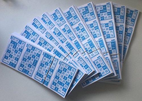 Binvi 3200 cartones de Bingo