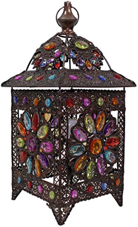 Guo European Style Lampe Schlafzimmer Bedside Lampe Exotische Features Eisen Acryl E14 Lampe Port