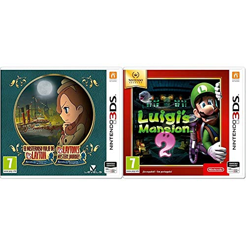 Nintendo El Misterioso Viaje De Layton: Katrielle Y La Conspiración De Los Millonarios - Edición Estándar + Luigi's Mansion 2