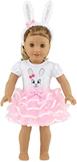 """Emily Rose 18 Inch Doll Clothes and Accessories   Bunny 18"""" Doll Outfit, Includes Bunny Ears!   Gift Boxed!   Doll Clothes..."""