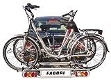 Fabbri Portatutto 6201981 Elektrobike Exclusiv Deluxe 2 Portabici per Gancio Traino, Fino a 2 Bici Elettriche