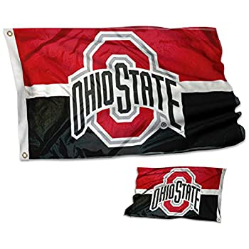 College Flags & Banners Co Ohio State Buckeyes Double Sided Flag