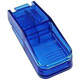 MED-COMFORT Tabletten-Teiler Blau Transparent -