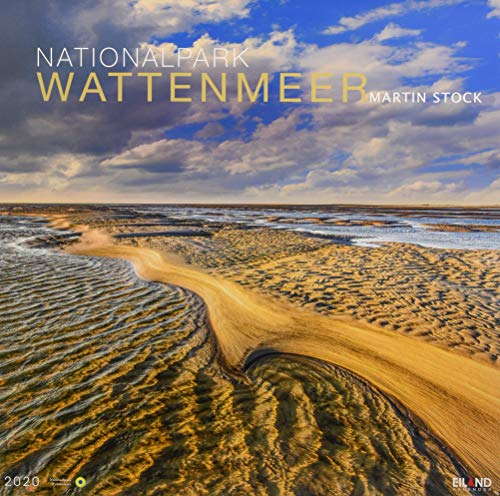 Nationalpark Wattenmeer Edition: Martin Stock. Wandkalender 2020. Monatskalendarium. Spiralbindung. Format 46 x 46 cm
