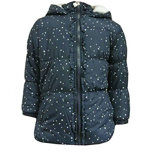 Outburst - Mädchen Anorak Winterjacke Sternemuster, blau - 3934209, Größe 92
