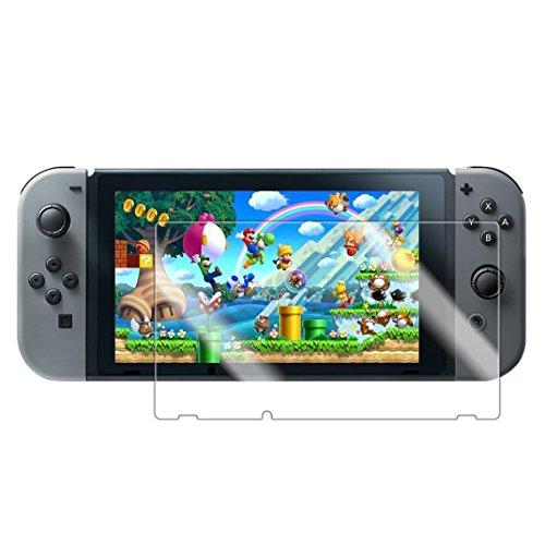 AOKKR Nintendo Switch ガラスフィルム 最新版 極上タッチ感 9H硬度 液晶保護 高透過率 Nintendo Switch 強...
