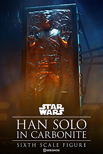 Sideshow Collectibles ss100310 1: 6 HAN Solo IN Karbonit
