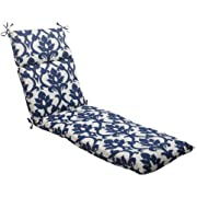 Pillow Perfect Indoor/Outdoor Carmody Chaise Lounge Cushion