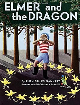 Paperback Elmer and the Dragon (My Father's Dragon) Book