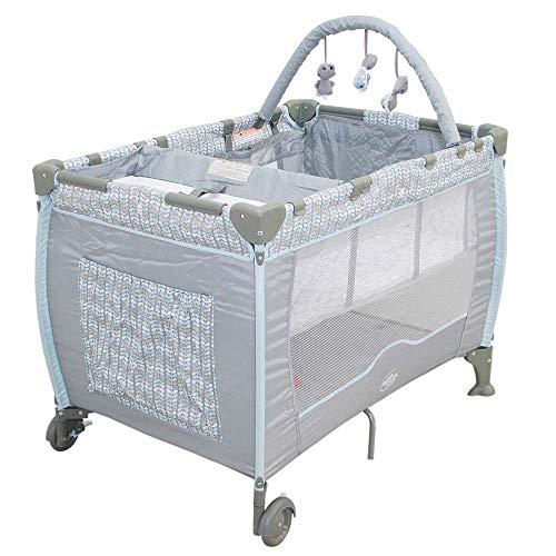 Berço Plus Com Trocador e Mobile Folhas Baby Style