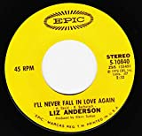 YOU BUY THE WIME / I'LL NEVER FALL IN LOVE AGAIN (45/7')