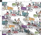 Fahrräder, Dreirad, Amsterdam Stoffe - Individuell