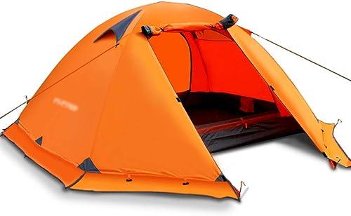 WSGZH Tentes tentes pour Camping Colehomme Tente Tente extérieure Tente de Camping épaissie Double Portable Tente de Camping Sauvage Unique Double Tourisme étanche à la Pluie