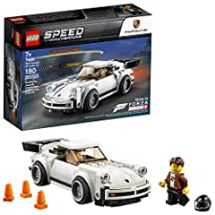 Inspire kids and all Porsche fans to build, race and display this white 1974 Porsche 911 Turbo 3.0 toy car with a removable windshield to place a minifigure in the cockpit and authentic design details including the iconic 'whale tail' rear spoiler! T...