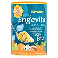 Vegan food with a cheesy, nutty taste. Made from primary inactive yeast, a rich natural source of B vitamins & trace elements. Sprinkle on soups, stews, casseroles, pasta or salads to enhance the flavour. To preserve vitamins, do not heat to 100C.