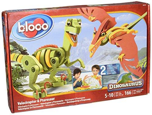Bloco Velociraptor & PTEROSAURO