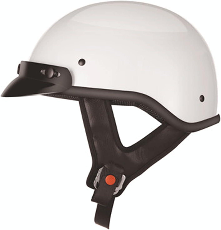 GAOZ Helmets Classic Vintage Moto Medio Casco, Adultos Casco Jet Abierto Retro, ECE Homologado Casco para Crucero Scooter Casco Equitación Protectora Casco