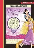 Aprende a dibujar a las Princesas Disney (Crea, juega y aprende con Disney): Te enseñamos cómo dibujar a tus princesas Disney favoritas como Blancanieves, Cenicienta, Bella y muchas más