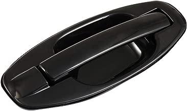 LUJUNTEC Exterior Door Handle Rear Passenger Side Replacement for 2001-2006 Hyundai Santa Fe Black