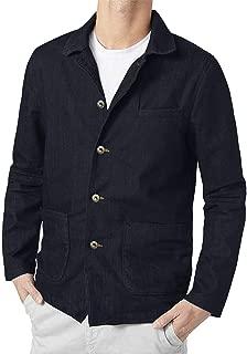 COOFANDY Men's Casual Blazer Jacket Slim Fit Vintage Multi-Color Suit Sport Coat Lightweight Cotton Jackets