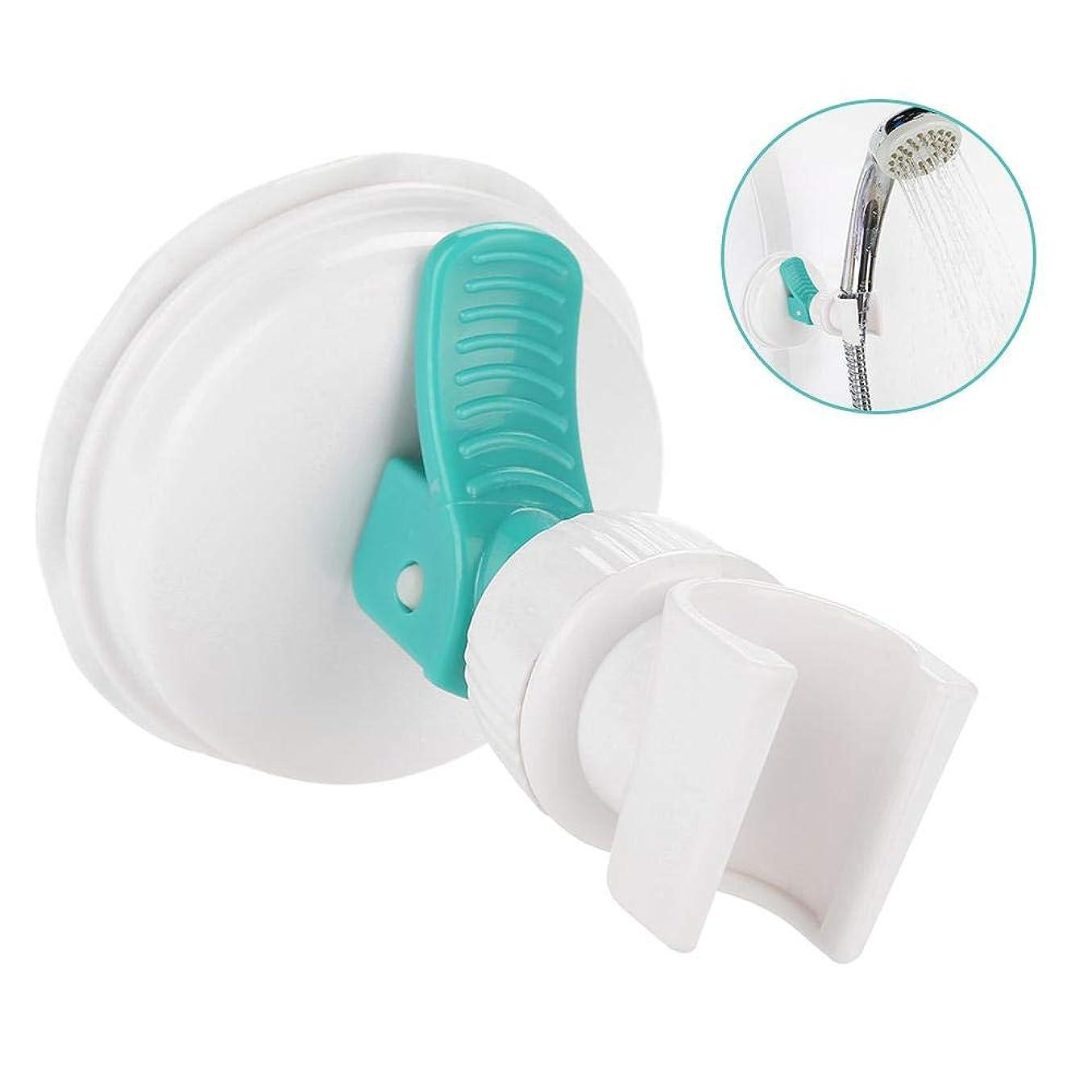 影のある忘れるソビエトSemmeのシャワー?ヘッドのホールダー、妊娠中の女性、高齢者および子供のための極度の強い吸引のコップのシャワー?ヘッド調節可能な壁ブラケットの手の自由で快適なシャワー
