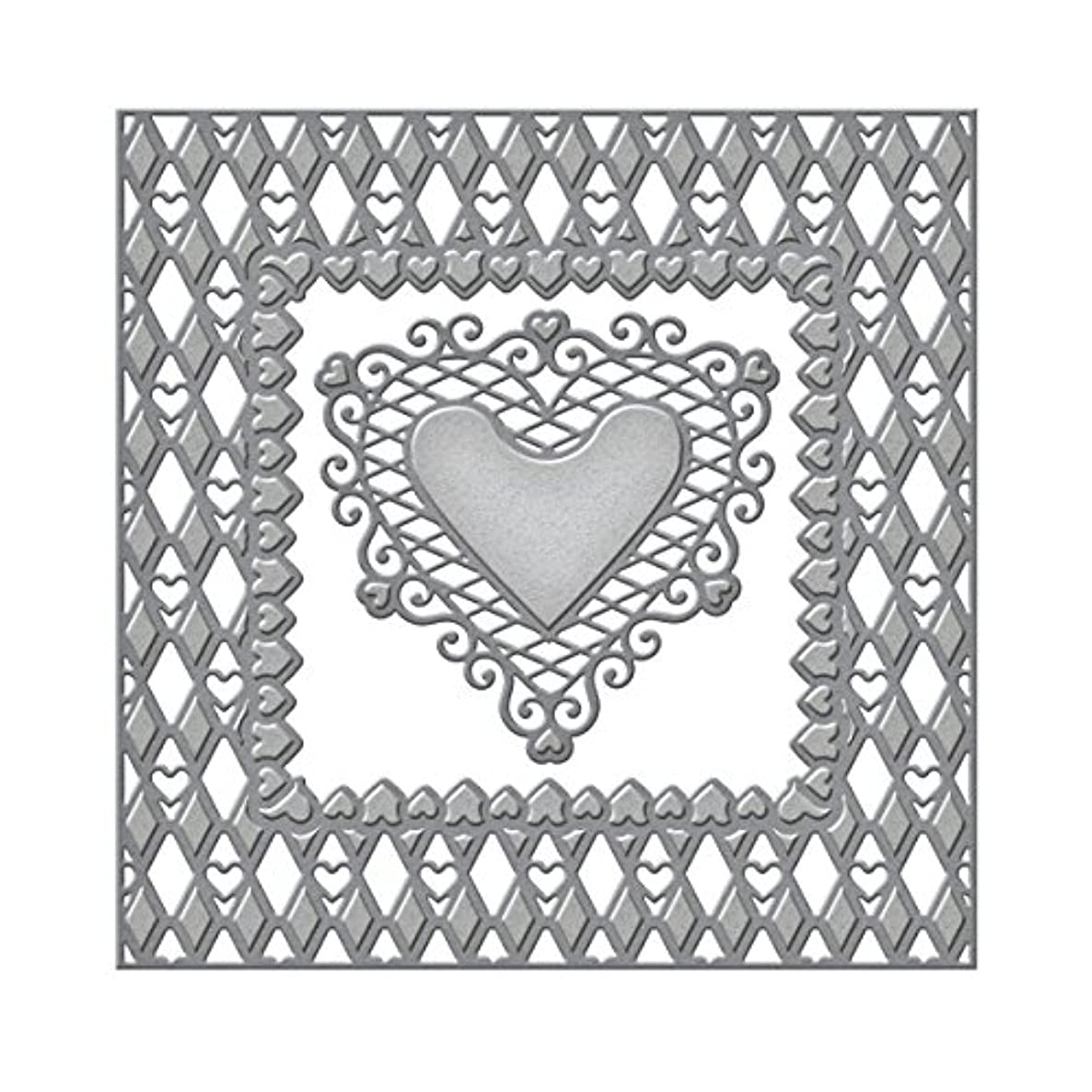 Spellbinders S6-019 Lovin' Diamonds Etched/Wafer Thin Dies