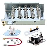 279838 Dryer Heating Element 279816 Thermal Cut-Off Kit and Thermostat3392519 dryer thermal fuse 279838 Compatible whirlpool kenmore roper maytag estate inglis kitchenaid crosley amana