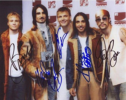 Backstreet Boys Signiert Autogramme 21cm x 29.7cm Foto Plakat