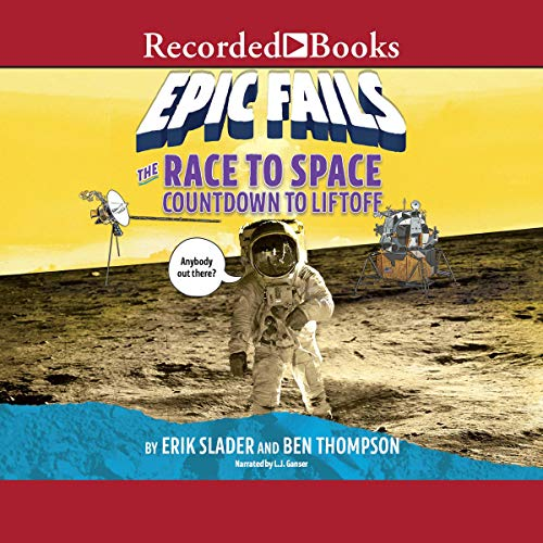 The Race to Space audiobook cover art