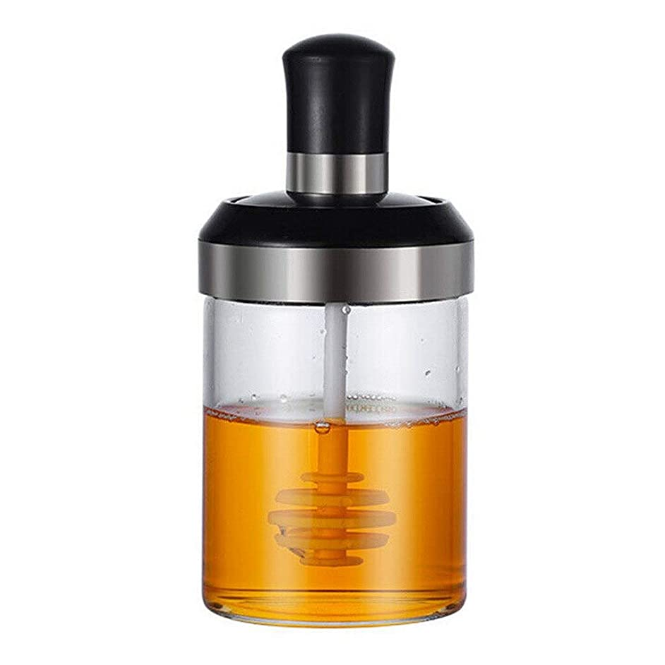 250ml Glass Salt Shaker Kitchen Spice Kit Bottles Pepper Spoon Seasoning Container Oil/Honey Dispenser Bottle Gravy Boats