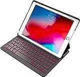 """Inateck Tastatur Hülle kompatibel mit 9,7"""" iPad 2018 (6. Gen.), iPad 2017 (5. Gen.) und iPad Air..."""