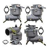 Piezas de carburador de motor #N/A 4 piezas para Briggs Stratton 390323 394228 7/8/9HP