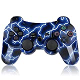 Finera PS3 Controller Wireless Double Shock Bluetooth Gamepad Gaming Controller for Playstation 3