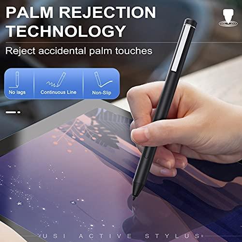 TiMOVO USI Stylus Stift Kompatibel mit Chromebook, 4096 Druckstufen Eingabestift Palm Rejection Chromebook Duet, HP Chromebook x360 12b/14c, Chromebook Flip C436/C536/CX5, Galaxy Chromebook, Grau - 5